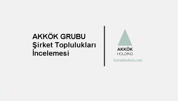 Akkök Holding Borsa Şirketleri