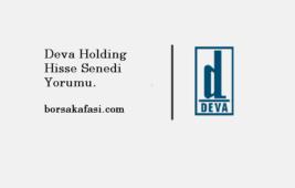 DEVA Holding hisse senedi yorum