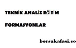 Teknik analiz eğitim Formasyonlar