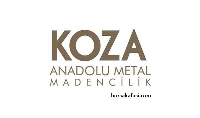 KOZAA hisse senedi Koza Anadolu Metal Madencilik İşletmeleri