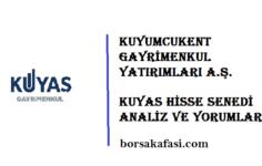KUYAS Kuyumcukent Gayrimenkul Yatırımları hisse senedi yorum