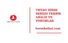 THYAO / TÜRK HAVA YOLLARI HİSSE SENEDİ ANALİZ