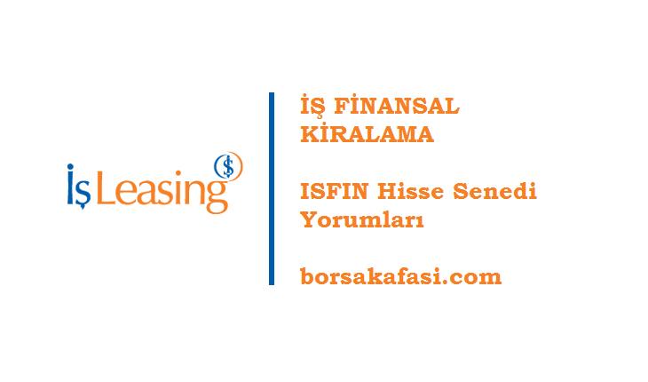 İş Finansal Kiralama Hisse Senedi   ISFIN