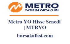 Metro YO Hisse Senedi Yorumları | MTRYO